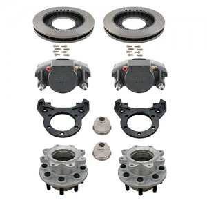 ALKO 10,000 LB. GENERAL DUTY AXLE BRAKE SETS WITH TORSION SUSPENSION, SINGLE WHEEL APPLICATIONS