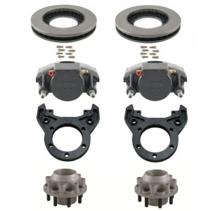 SPECIAL SINGLE WHEEL APPLICATION - 10,000 LB. GENERAL DUTY AXLE BRAKE SETS
